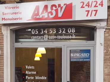Dépannage vitrier ville Aucamville.